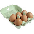 Box of 6 Extra Large Free Range Eggs
